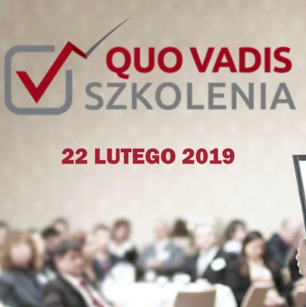 QUO VADIS SZKOLENIA WARSZAWA 2019