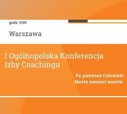 Konferencja Izby Coachingu 2